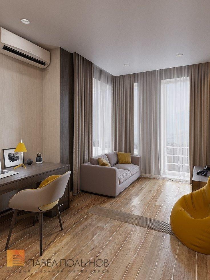 Фото: Дизайн детской - Интерьер квартиры в современном стиле, ЖК «Дом у березового сада», 168 кв.м.