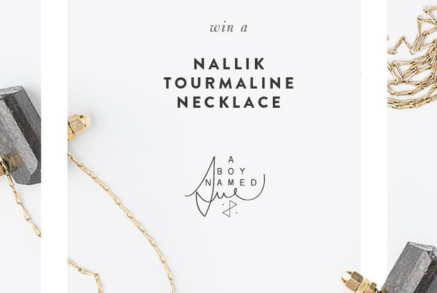 A BOY NAME SUE NECKLACE GIVEAWAY