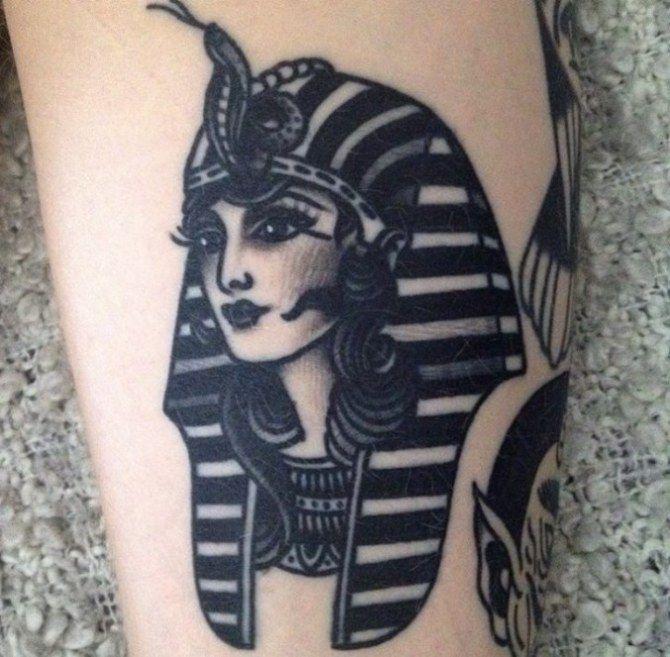 08 Egyptian Goddess Tattoo