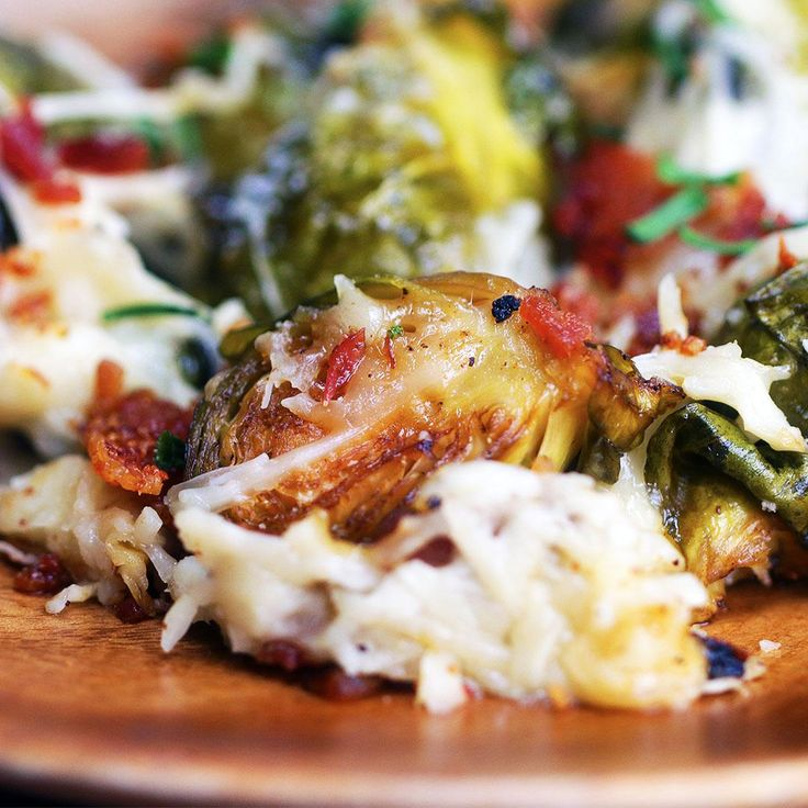 Garlic Parmesan Bacon Brussels Sprouts Recipe by Tasty
