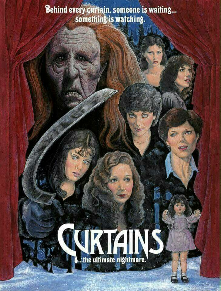 Curtains Horror Movie Poster
