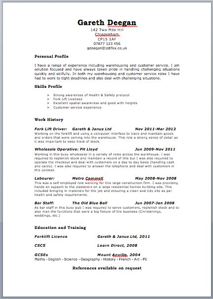 190 best Resume Cv Design images on Pinterest Resume, Resume - booking clerk sample resume