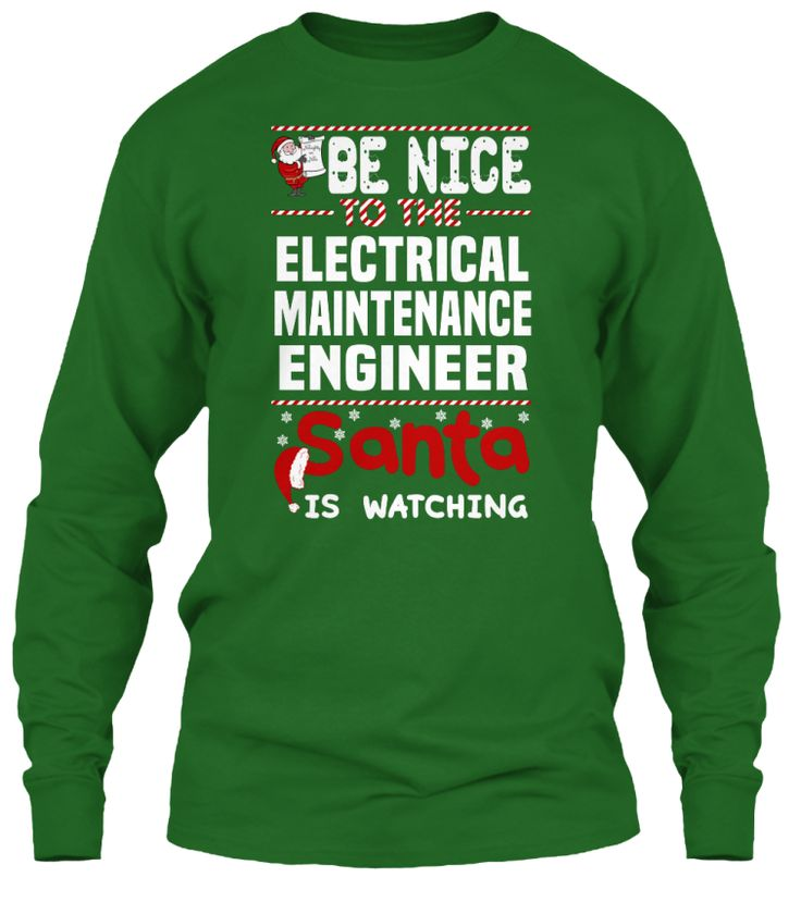 Be Nice To The Electrical Maintenance Engineer Santa Is Watching.   Ugly Sweater  Electrical Maintenance Engineer Xmas T-Shirts. If You Proud Your Job, This Shirt Makes A Great Gift For You And Your Family On Christmas.  Ugly Sweater  Electrical Maintenance Engineer, Xmas  Electrical Maintenance Engineer Shirts,  Electrical Maintenance Engineer Xmas T Shirts,  Electrical Maintenance Engineer Job Shirts,  Electrical Maintenance Engineer Tees,  Electrical Maintenance Engineer Hoodies…