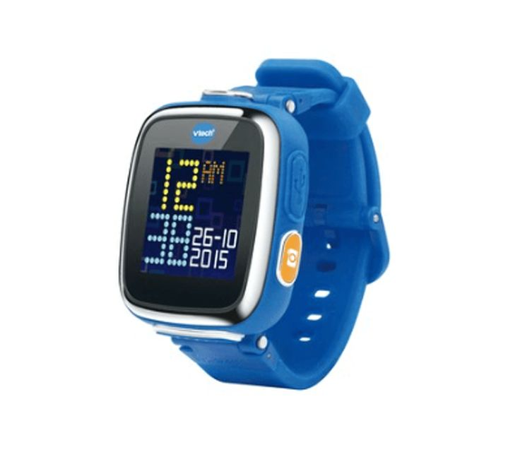 As you might have guessed from the name, the VTech Kidizoom is definitely a smartwatch for kids. This device lets young children take both videos and photos, which they can style with different effects, frames, and filters. The VTech Kidizoom Smartwatch is available at major retailers like Toys-R-US and Target for as low as $59.99.
