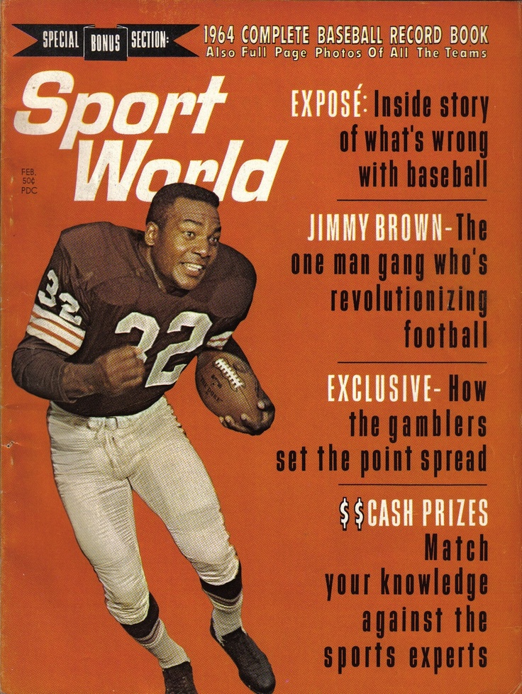 "Sport World, 1964""Jimmy Brown, the One Man Gang Who's Revolutionizing Football"""