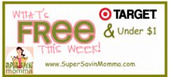 TARGET DEALS $$ What's FREE & Under $1 This Week? (8/19 – 8/25)!