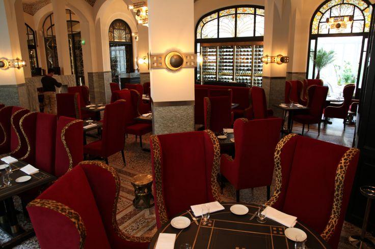 Restaurant Les Climats revisité par Bambi Sloan