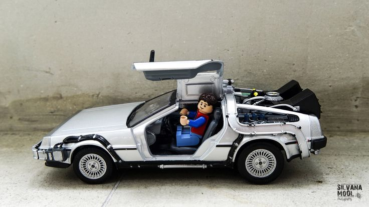 Lego Back to the future Marty Mcfly