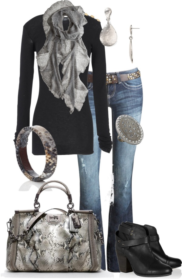 """Untitled #203"" by alison-louis-ellis on Polyvore (love it all minus the boots!)"