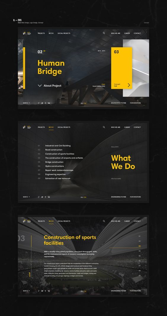 webdesign #web #design #inspiration #concept #layout