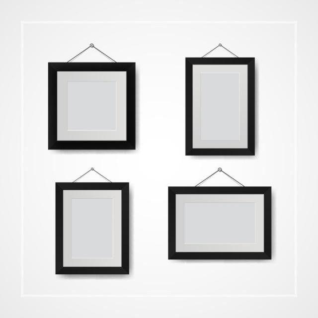 العديد من الصور الصغيرة وإطارات الصور على الجدار الأبيض صور Clipart حائط فارغ Png والمتجهات للتحميل مجانا Small Pictures Photo Clipart Frame