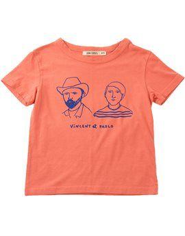 BOBO CHOSES Unisex Vincent and Pablo Print T-Shirt. Shop here: http://www.tilltwelve.com/en/eur/product/1084443/BOBO-CHOSES-Unisex-Vincent-and-Pablo-Print-T-Shirt/