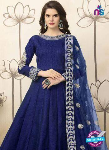Best AZ 6689 Blue Anarkali Suits Online Shopping at Newshop.in.  #bestanarkalisuitsonline #designeranarkalisuits #blue #newshop