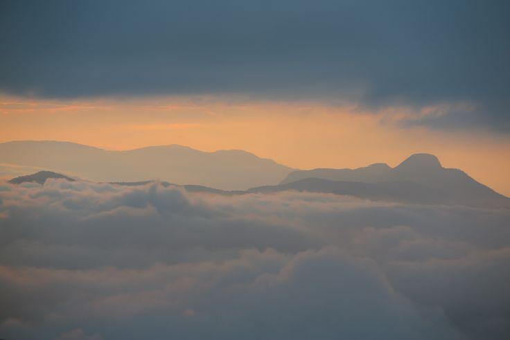 La tête dans les nuages - Sigiriya