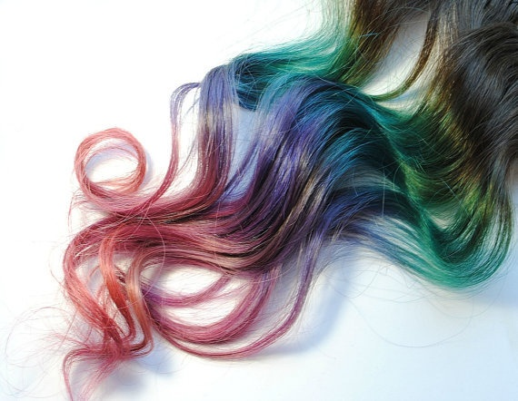 Right before I get rid of my ombre ill be experimenting with this for a couple w…   – M O O N W A L K