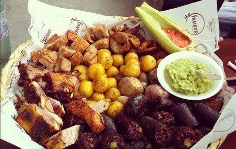 Fritanga from El Tambor   http://www.chowzter.com/fast-feasts/latin-america/Bogota/review/El-Tambor/Fritanga/4793_4810