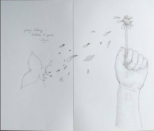 Drawing - Yang Hilang Takkan Terganti