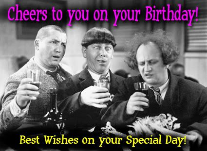 3 stooges birthday cards | birthday too and vaynor s its a happy birthday trio