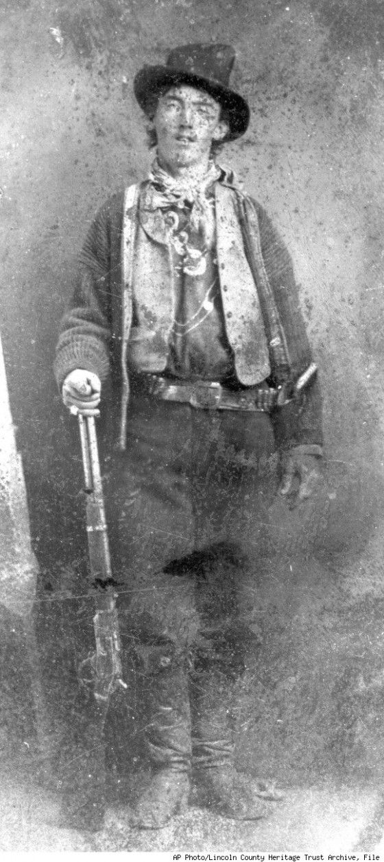 UNKNOWN.  Billy the Kid.