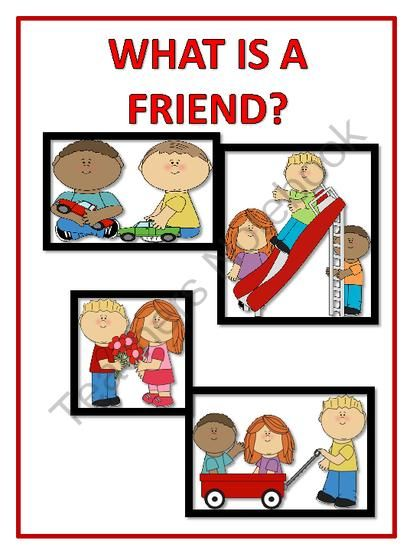 Friendship Posters from FunTeach on TeachersNotebook.com ... Friends With Kids Poster