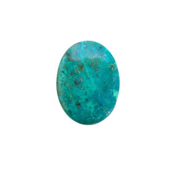 Chrysocolla oval cabochon 55.70 carat by SARAHHUGHESfinegems