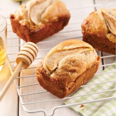 Mini-pains aux poires, miel et cardamome - Recettes - Cuisine et nutrition - Pratico Pratiques