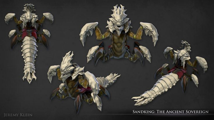 ArtStation - Sandking: The Ancient Sovereign, Jeremy Klein