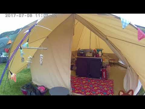 We Review The Stunning Star Canopy Bell Tent from Boutique Camping