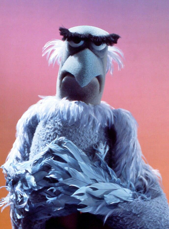 Sam the Eagle. Best Muppet ever.