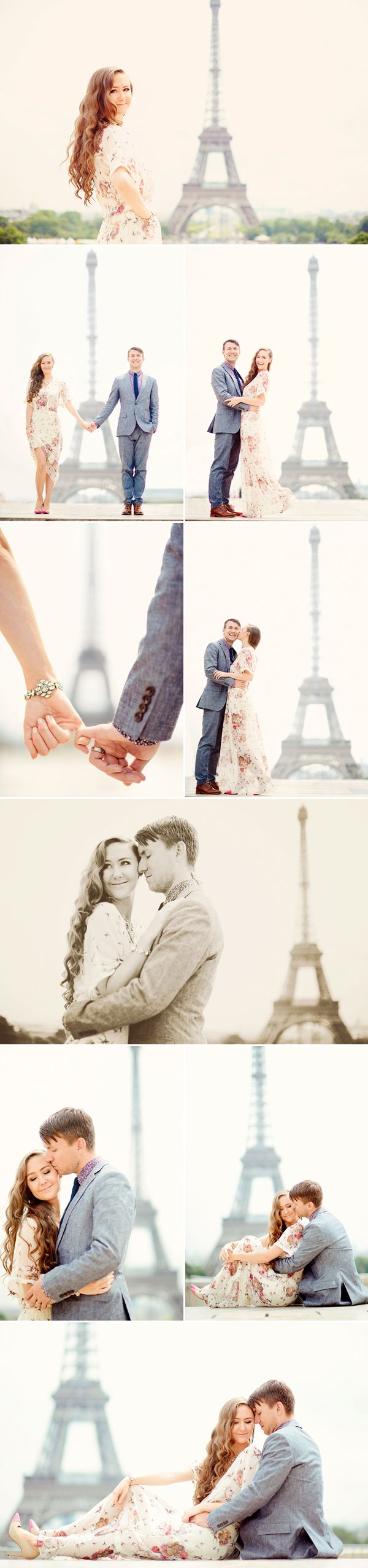Romantic Paris Honeymoon Session (from Emm and Clau)