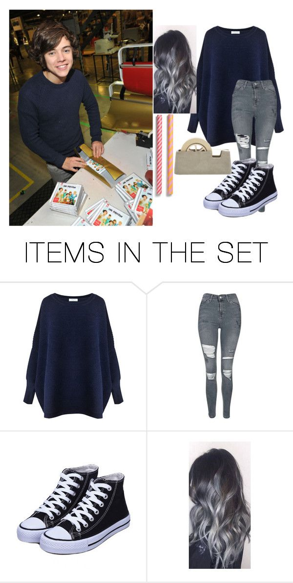 """""""Helping Harry Wrap Christmas Presents For Fans"""" by nialls-wife1 on Polyvore featuring art"""