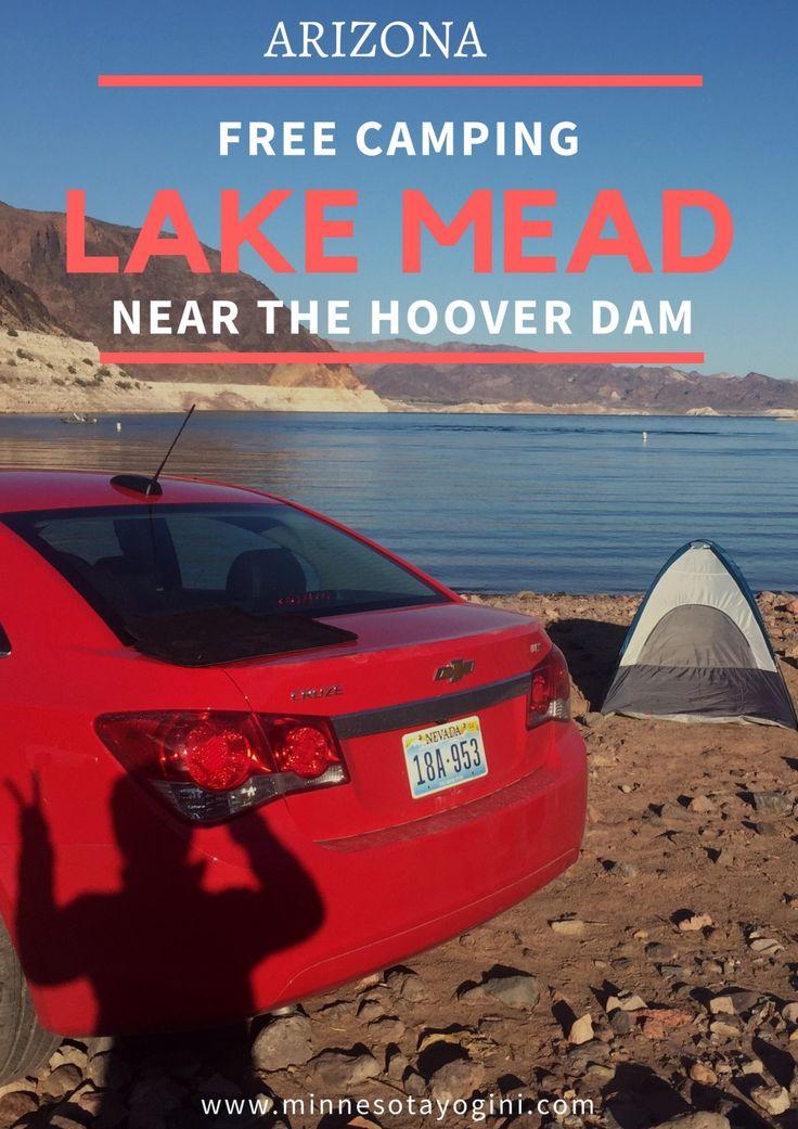 Minnesota Yogini - Free Camping on the Shores of Lake Mead + The Hoover Dam - Minnesota Yogini