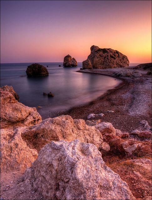 Aphrodites Rocks, Cyprus by John J Buckley, via Flickr