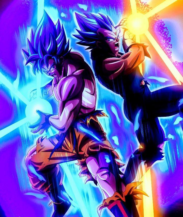 Goku Vegeta Super Saiyan Blue Dragon Ball Super Goku Vegeta Super Saiyan Blue Dra In 2020 Anime Dragon Ball Super Dragon Ball Super Art Dragon Ball Super Goku