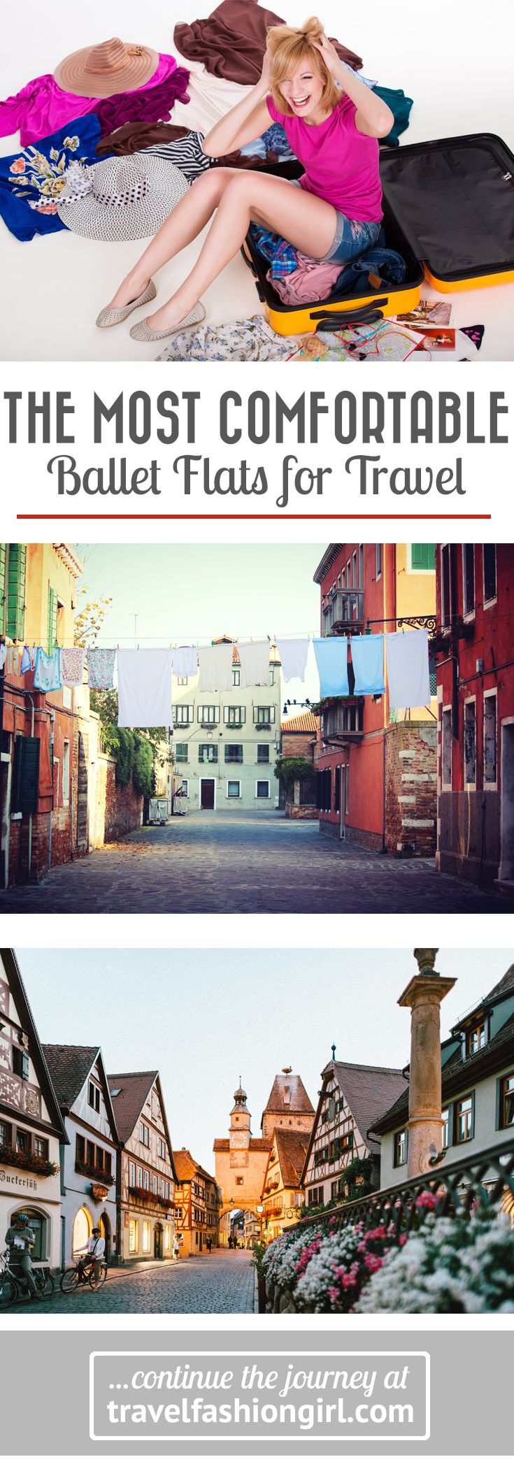 Looking for the most comfortable ballet flats for travel? These are our top picks for the most comfortable styles to wear at home and while traveling. | travelfashiongirl.com