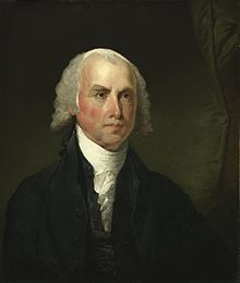 """United States Bill of Rights - James Madison(1751-1836), """"Father of the Constitution"""" and first author of the Bill of Rights"""