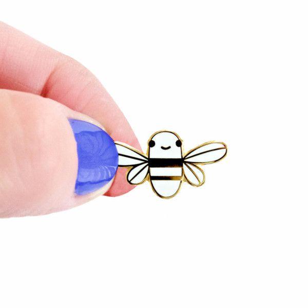 Mini Golden Bee Enamel Pin