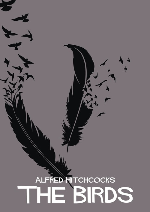 The Birds by Adam Armstrong - the text is nice but I also love the way the birds flow from the feather. This is similar to my own poster so I will like to do something similar to this