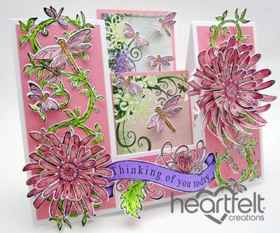 Enchanted Mum Double Sided Step Card