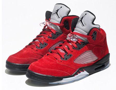 NIKE Air Jordan 5 DMP Pack Red Black