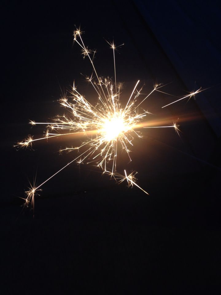 Fourth of July. Sparklers. Night. Fireworks. Glow sticks. Family. Friends. Grilling-out. Music. Independence.. And Mosquitos...