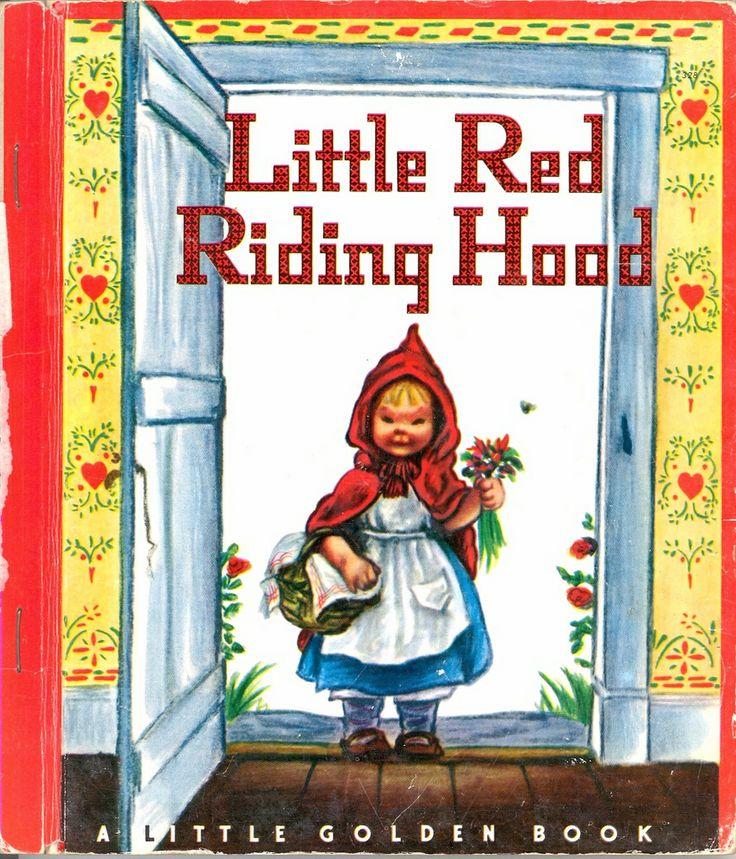 Little golden book little red riding hood little golden