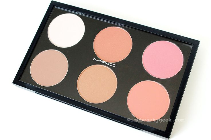 MAC Contour & Sculpt Yourself Palette with highlight, contour and blush shades_www.imabeautygeek.com