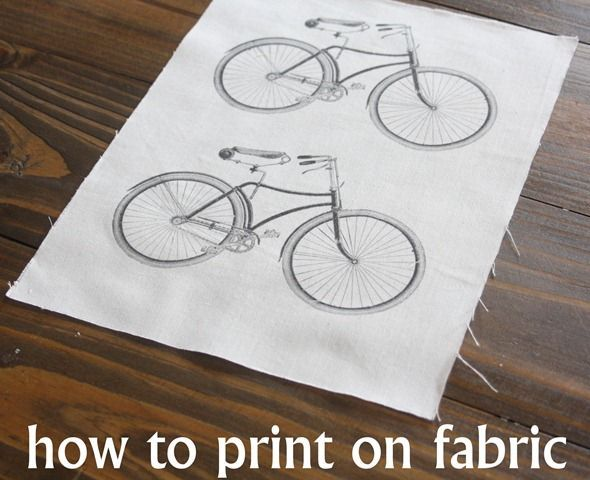 How to Print on Fabric DIY Tutorial! Use your Home Computer to Print directly on Fabric!