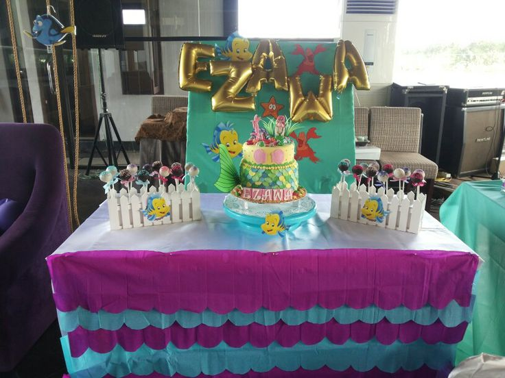 Bday cake little mermaid