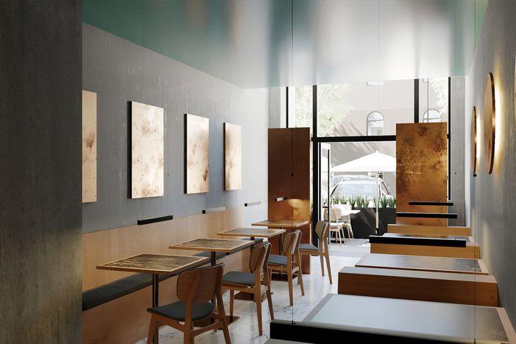 RAW Restaurant Interior by Futura  See more: https://mindsparklemag.com/design/raw-restaurant-interior/  More news: Like @Mindsparkle Mag on Facebook
