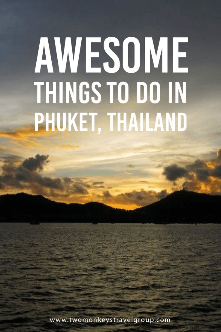 Awesome Things To Do in Phuket, Thailand I was in Phuket, Thailand. On my way to visit the Big Buddha, one of the city's most famous tourist spots. A group of tourists drove by on ATV's, the guys hooting as they tried to overtake each other at the turn. I petted Lucy the elephant goodbye, and climbed back into my tuktuk. In Phuket, tuktuks are more like vans where passengers can ride in the back. I stuck my face and hands out into the breeze as the van made its way up the hill.