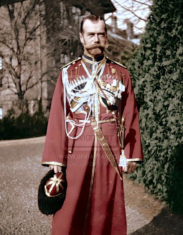 Nicolas II in Cossack uniform.   by ~KraljAleksandar
