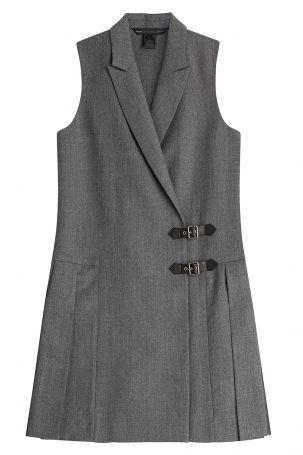 Marc by Marc Jacobs Marc by Marc Jacobs Plissiertes Blazer-Dress aus Wolle…