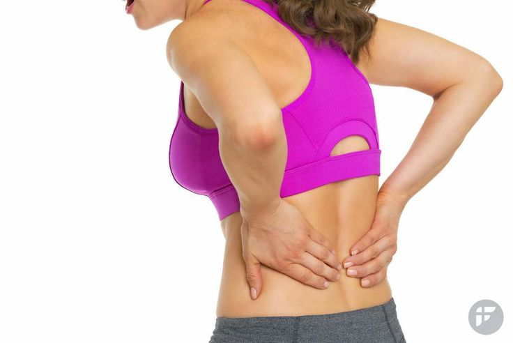 Lower back pain relief exercises for women. Feel better with these 4 basic back exercises. #backexercises #backpain #corestrength